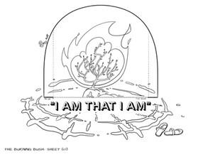 Sunday School Crafts   The Burning Bush