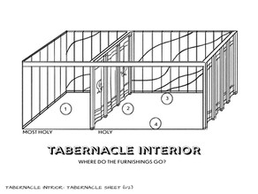 Sunday School Crafts | The Tabernacle Interior