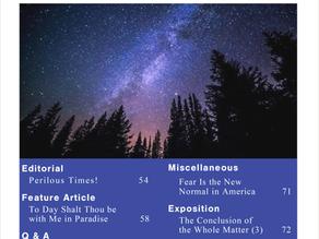 Digital Edition   March 2020   Vol. 1 No. 3