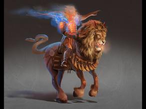Art   Horse and Rider, Revelation 9