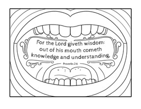 Coloring Pages   Proverbs 2:6