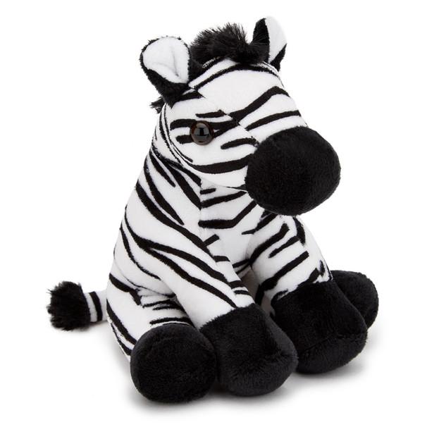 Zebra Small Plush Toy 5-6 inch