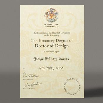 Doctor of Design2006