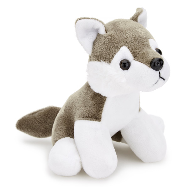 Wolf Small Plush Toy 5-6 inch