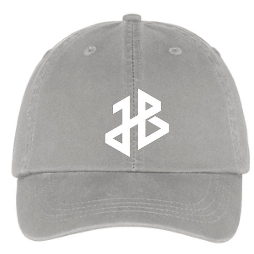 "Joe Barron ""JB"" Monogram Baseball Cap, Chrome"