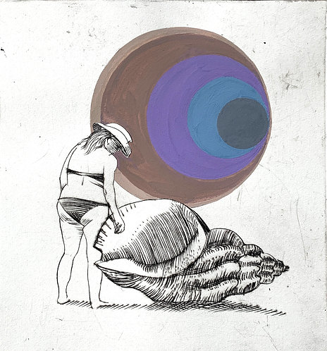 """The Shell"" (brown)"