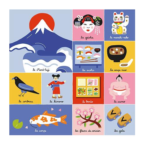 Digigraphie Japon de Steffie Brocoli
