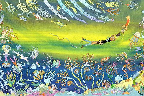 Jeanne Macaigne, Sous l'océan