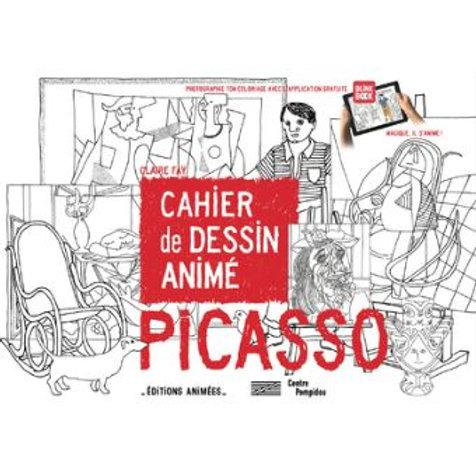Cahier de dessin animé Pablo Picasso