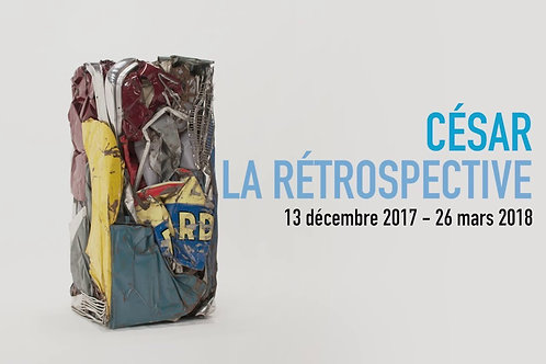Escap'Art, Samedi 10 mars, César
