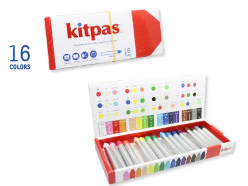 Boîte de 16 craies kitpas