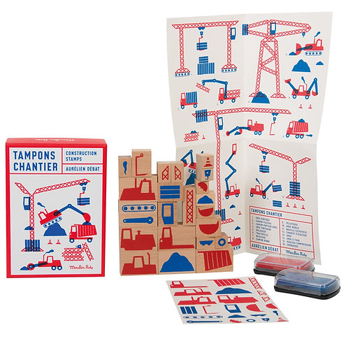 Coffret 23 tampons chantier