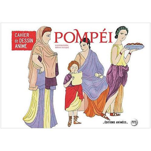 Cahier de dessin animé Pompéi