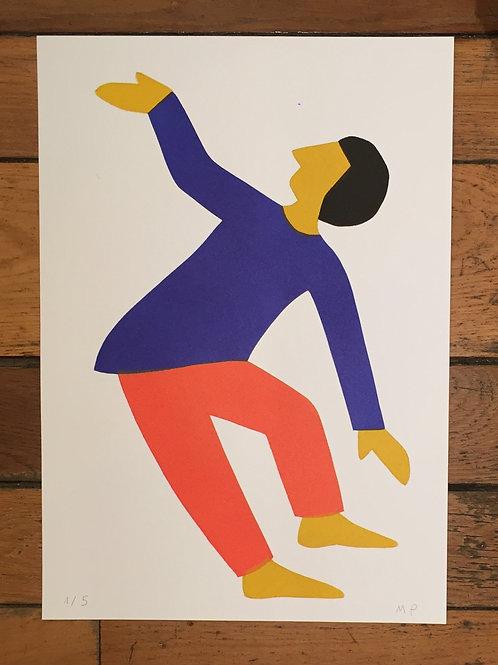 Marie Poirier, Les danseurs 1