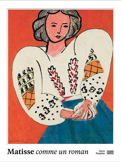 Samedi 28 novembre : Matisse, comme un roman, Centre Pompidou