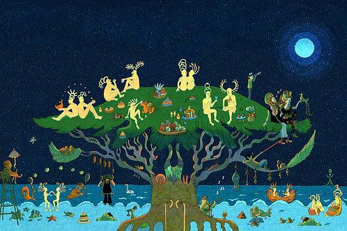 Jeanne Macaigne, L'arbre