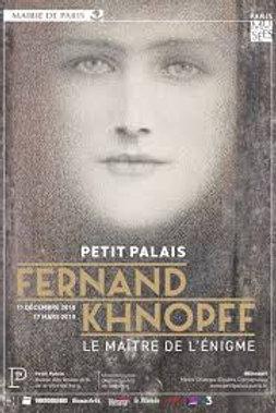 Samedi 9 février - Fernand Khnopff, le maître de l'énigme, Petit Palais