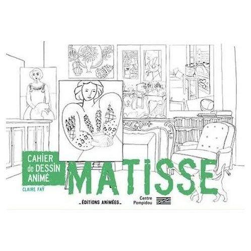 Cahier de dessin animé Henri Matisse