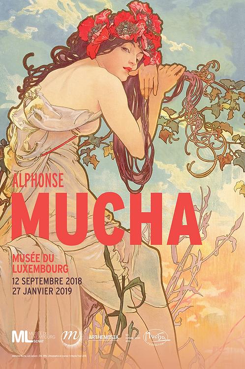 Samedi 13 octobre, Alphonse Mucha, Musée du Luxembourg