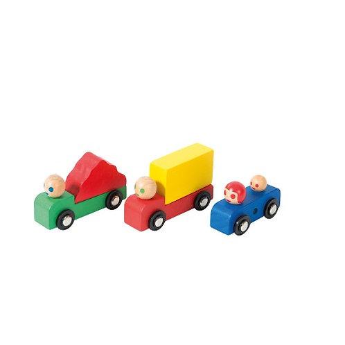 Assortiment voiture + camions