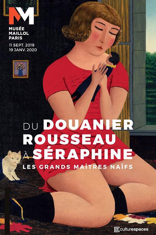 Samedi 1er février : Du Douanier Rousseau à Séraphine, Mu