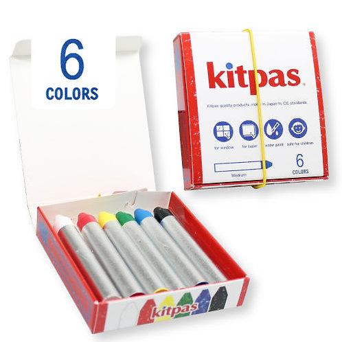 Boîte de 6 craies Kitpas