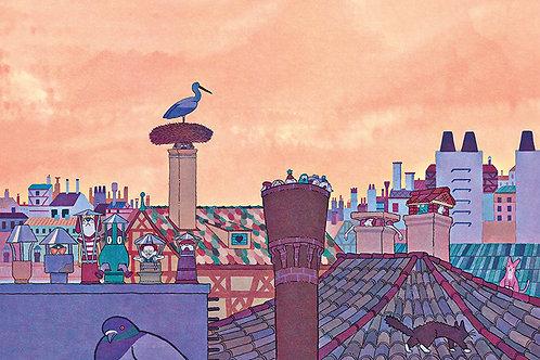 Vincent Pianina, Les toits