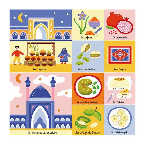 Artykid - Jeudi 29 octobre - Épices du bazar de Téhéran