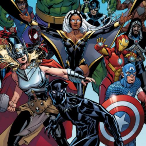 Paint a Comic Hero Saturday September 12 at 2:00pm