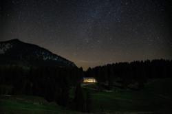 Spitzing-Lodge-bei-Nacht