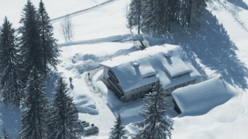 Spitzing Lodge im Winter