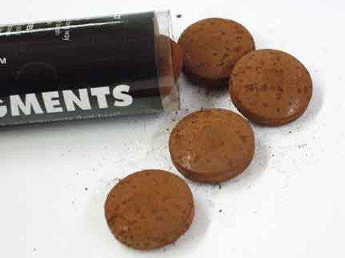 Fizzy Pigments, 10 Tablets:  Burnt Clay