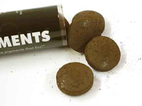 Fizzy Pigments, 10 Tablets:  Tobacco