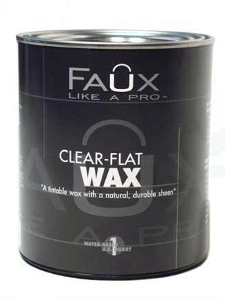Clear Flat Wax: Quart