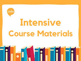 Intensive Course Material
