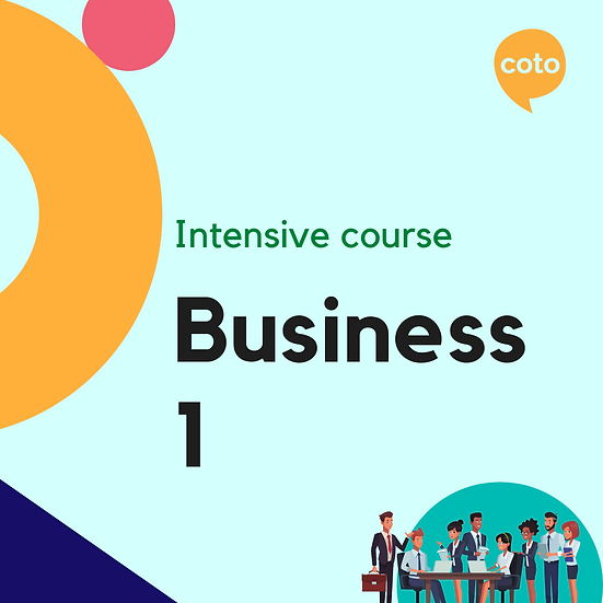 Business 1 - Intensive Course Materials