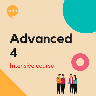 Advanced 4 - Intensive Course Materials
