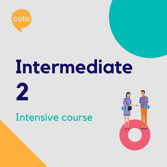 Intermediate 2 - Intensive Course Materials
