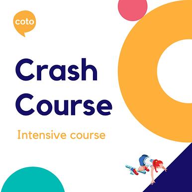 Crash Course - Intensive Course Materials