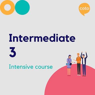 Intermediate 3 - Intensive Course Materials