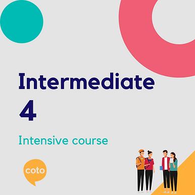 Intermediate 4 - Intensive Course Materials