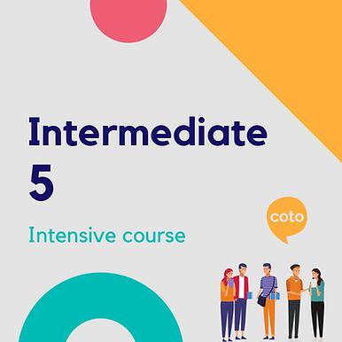 Intermediate 5 - Intensive Course Materials