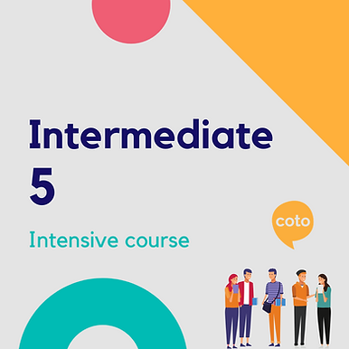 Intermediate 5 - Intensive Course Materials