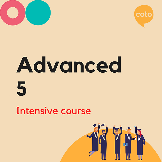 Advanced 5 - Intensive Course Materials