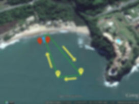 Maratonas aquáticas, Aquathlon, travessias, litoral norte, corrida