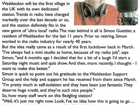 Thanks to Waddesdon News!