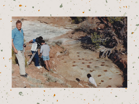 When David Attenborough came to Moab