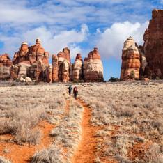 Needles Hikers- Canyonlands- Jacob W. Fr