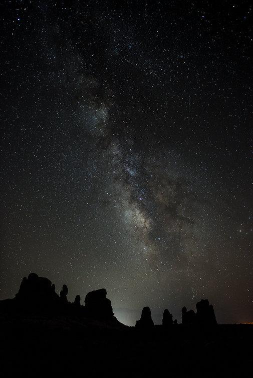 Night Sky at the Windows -  Neal Herbert