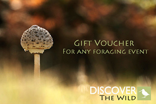 Foraging Gift Voucher